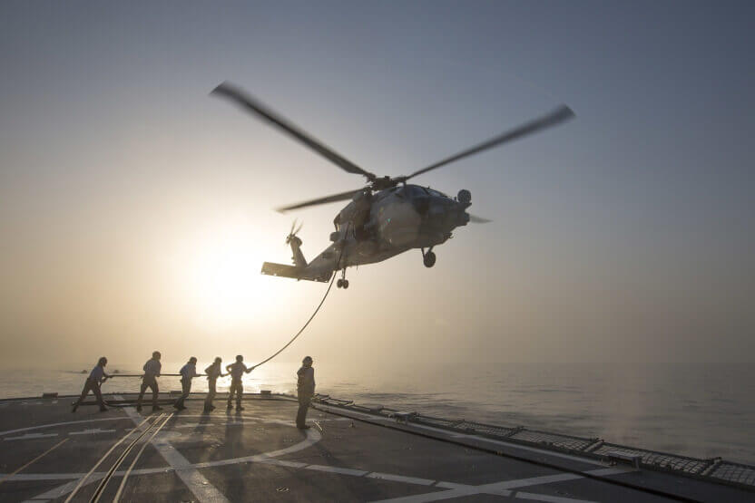 Navy receives final MH60R