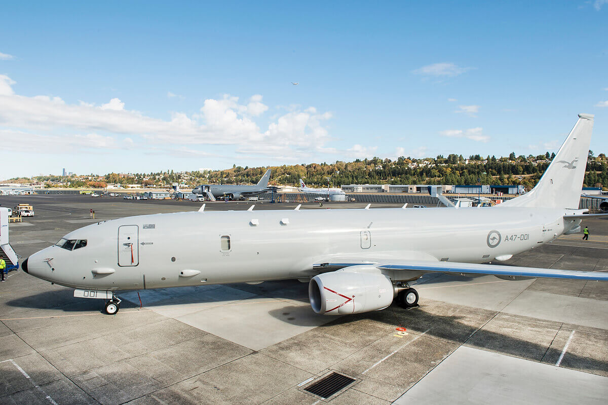First P-8A Poseidon handed to RAAF