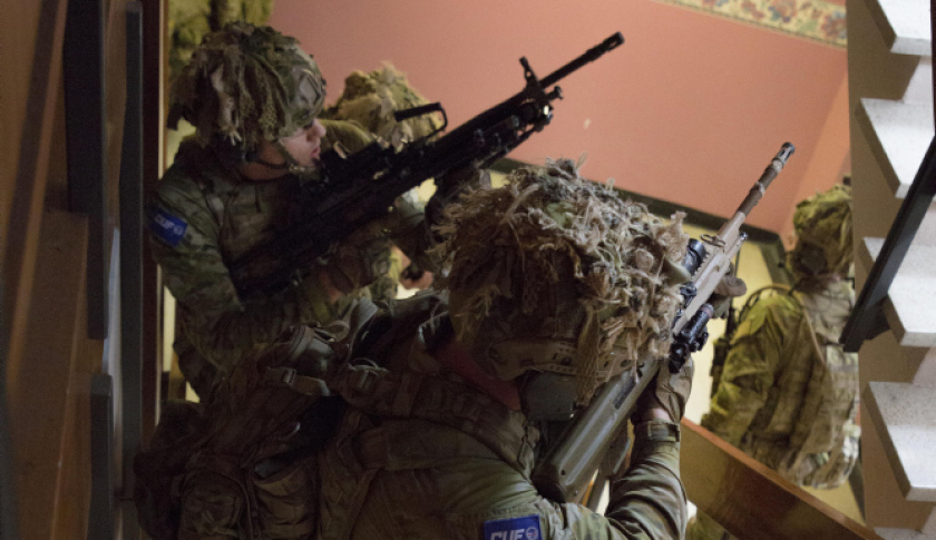 australian army contested urban environment exercise