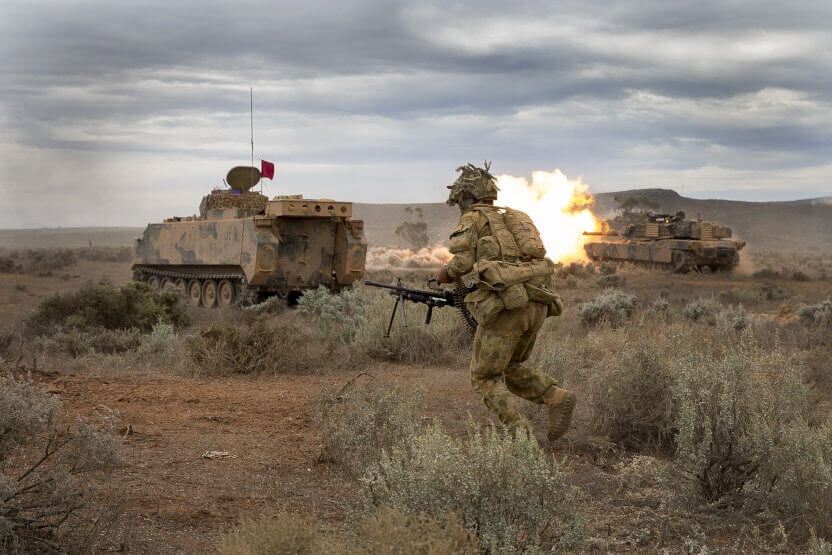 Soldier systems a priority in 2016/17 FY