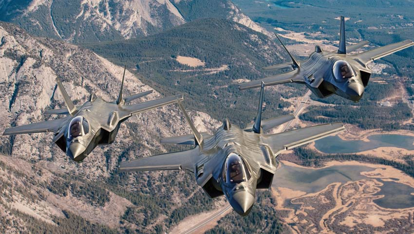 Lockheed Martin offers F-35 to Canadian Air Force