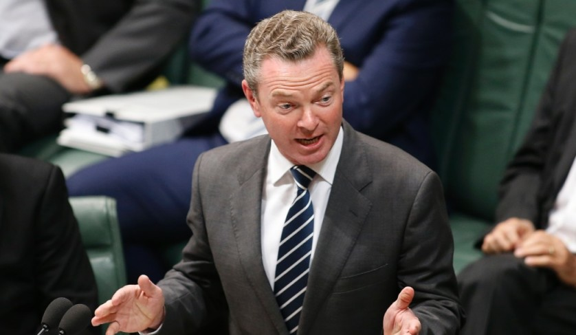 christopher pyne parliament