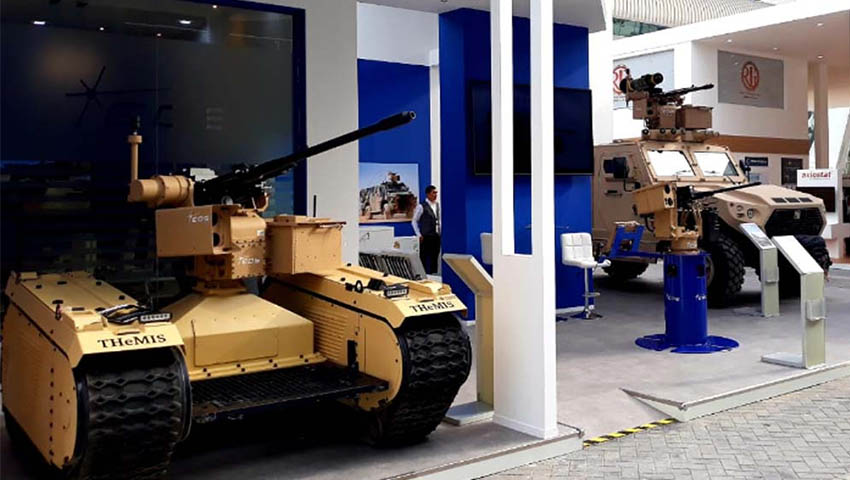Eos And Milrem Robotics Showcase Unmanned Warfare Remote