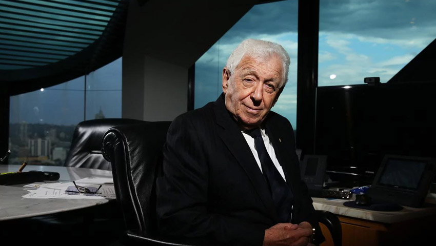 Frank Lowy calls on Australia to pull its socks up and invest in itself for  the future - Defence Connect