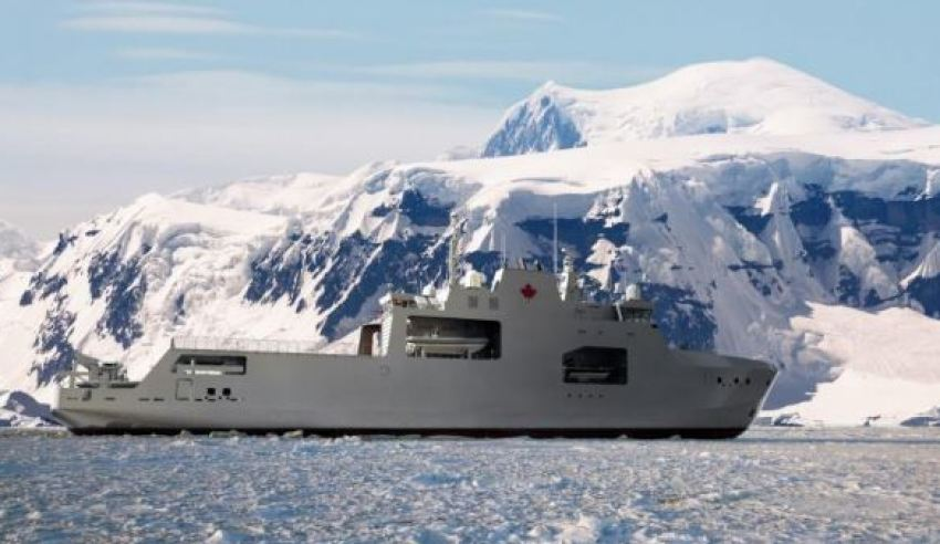 arctic and opv of the harry dewolf class