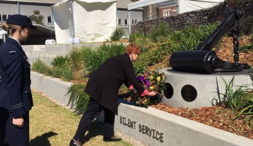 submariners sacrifice memorialised
