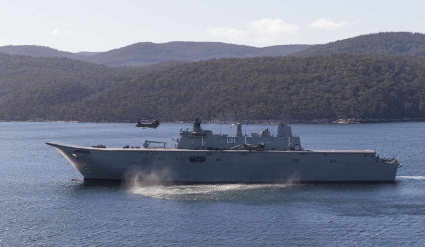 Tasmanian maritime industry favoured by OPV tenderer