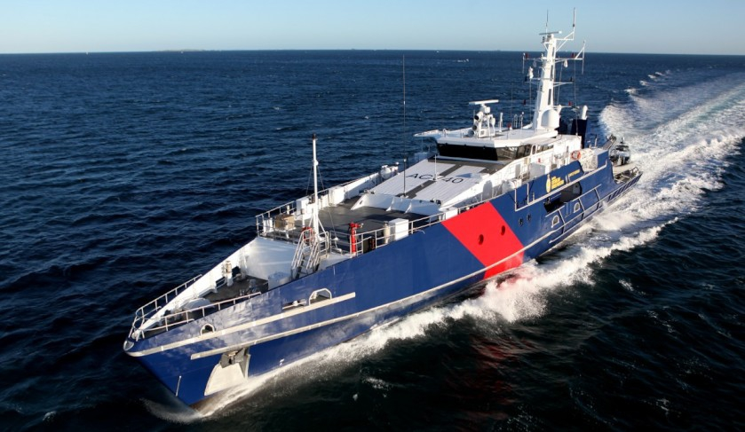 First Austal-built Cape Class vessel ready for RAN lease