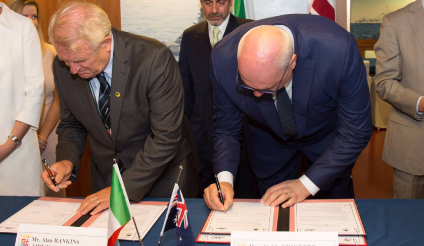 AIDN and AI Group sign MoUs with Italian organisation AIAD