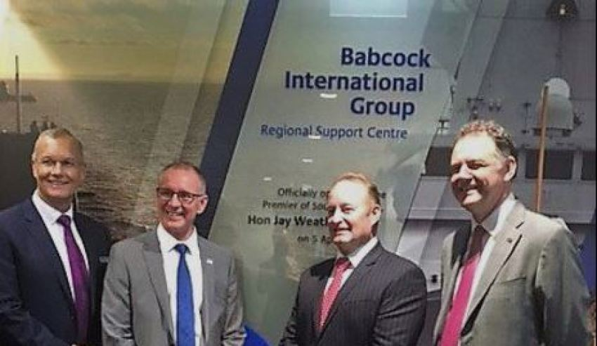 Babcock expands into Australian defence market