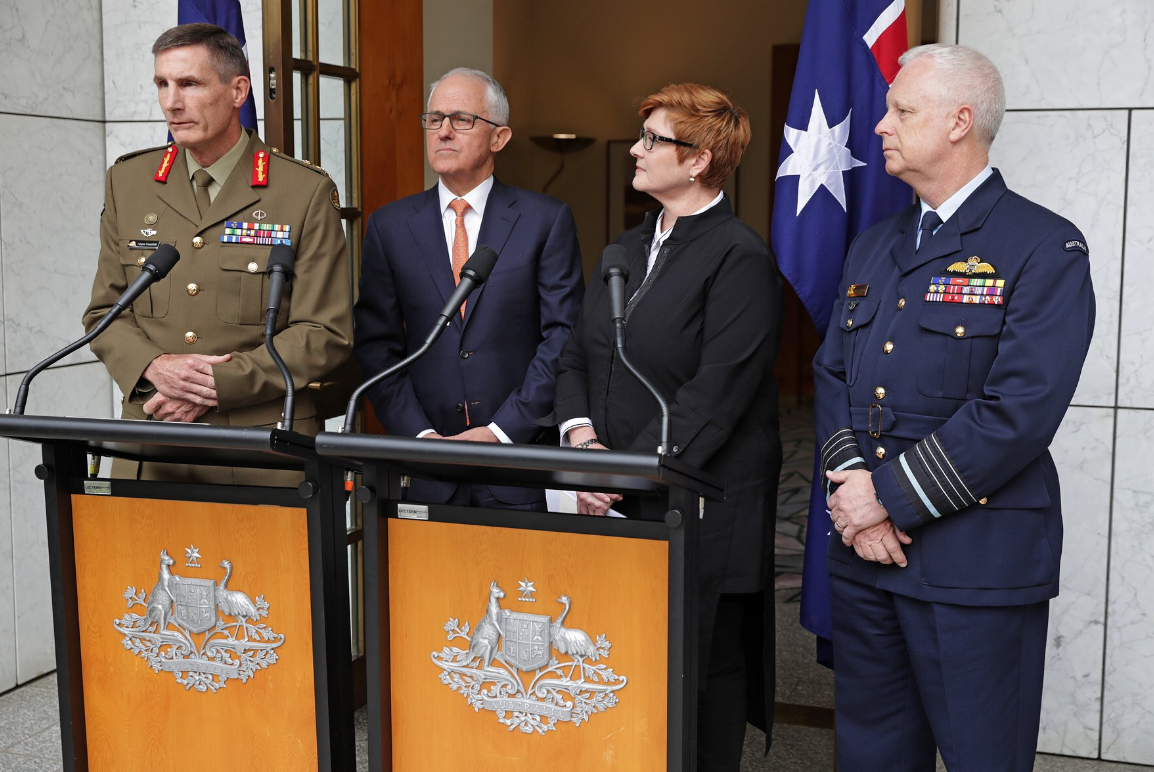 chief of defence announcement