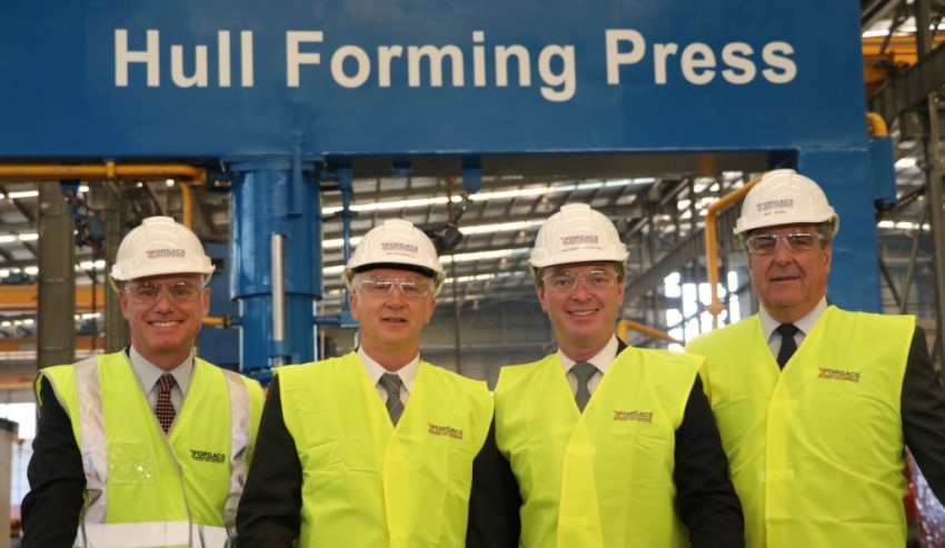 Multi-million dollar shipbuilding facility construction commences in WA