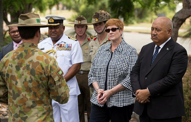 Minister Payne meets with Fiji Defence Minister and visits Thales facility