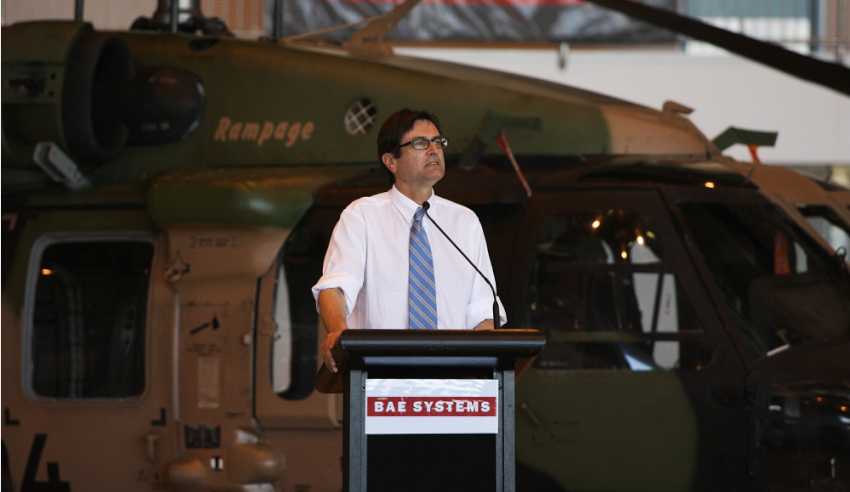Shaping Victoria's defence industry