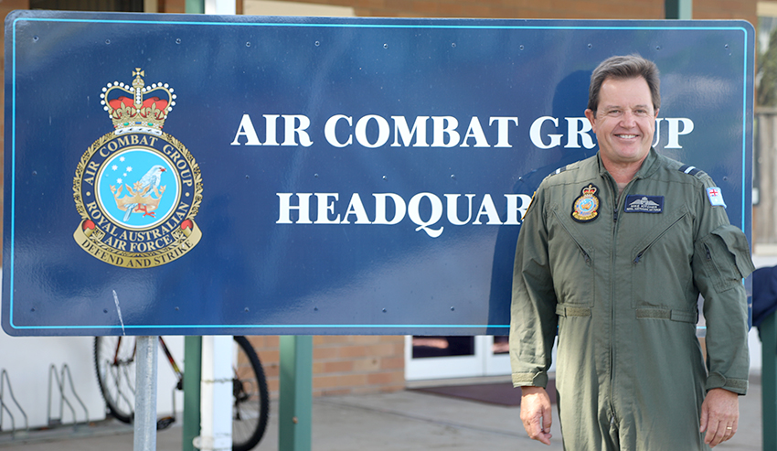 Mike Kitcher, RAAF, Air Combat Group