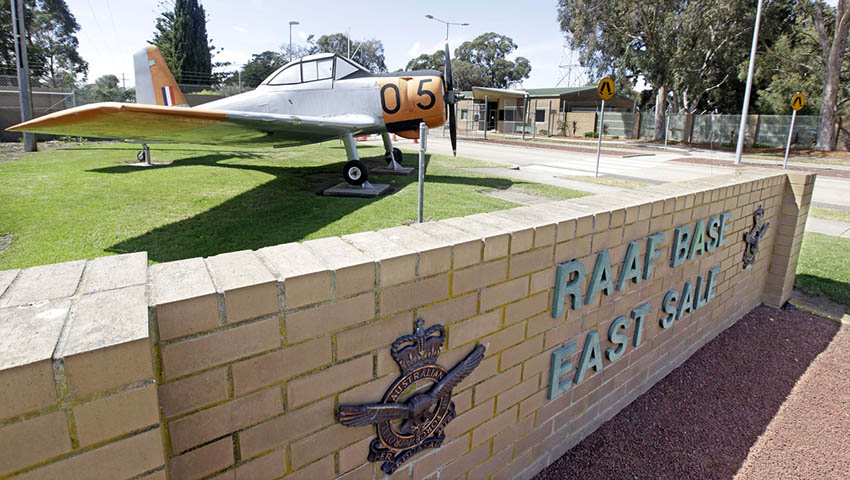 raaf base east sale