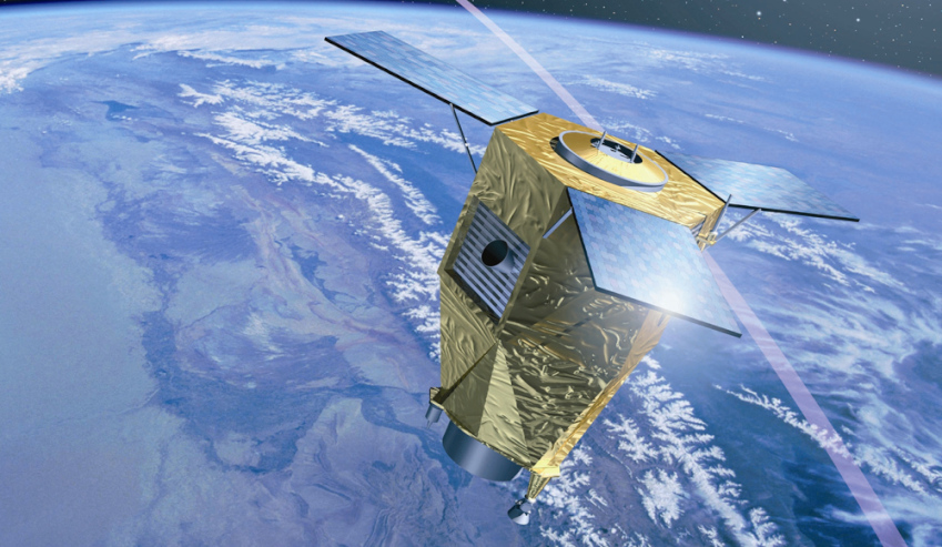 artists impression of pleiades satellite