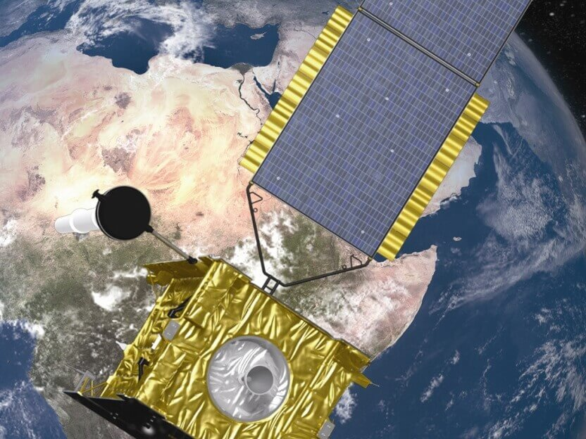 skynet satellite from airbus defence and space