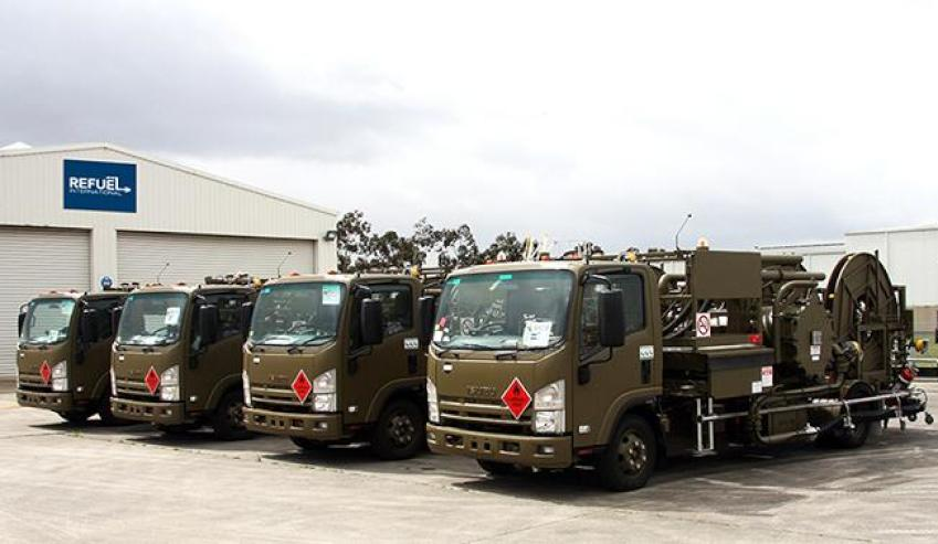 Defence receives new generation refuelling vehicles