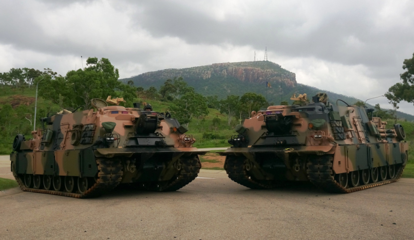 Army officially accepts new armoured vehicles