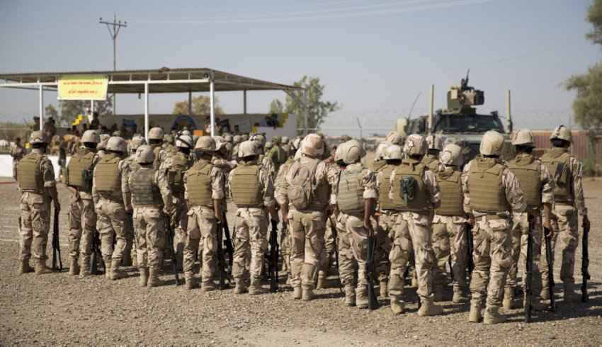 aus soldiers aid iraqi army rsquo s fight against daesh