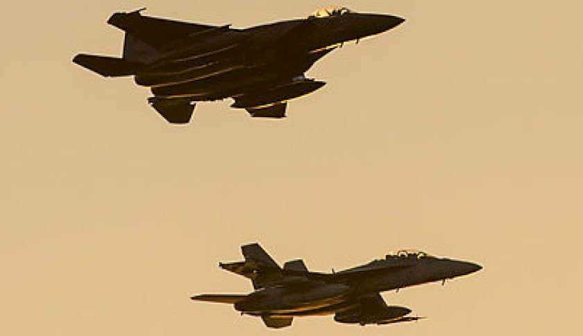 a mixed formation of a rsaf f    sqn fa  f super hornet fly a public display over mindil beach darwin