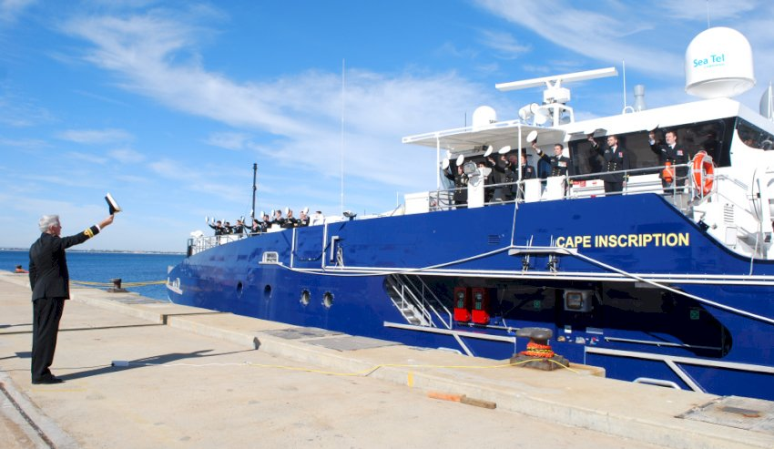 newest cape class patrol boat entered into service