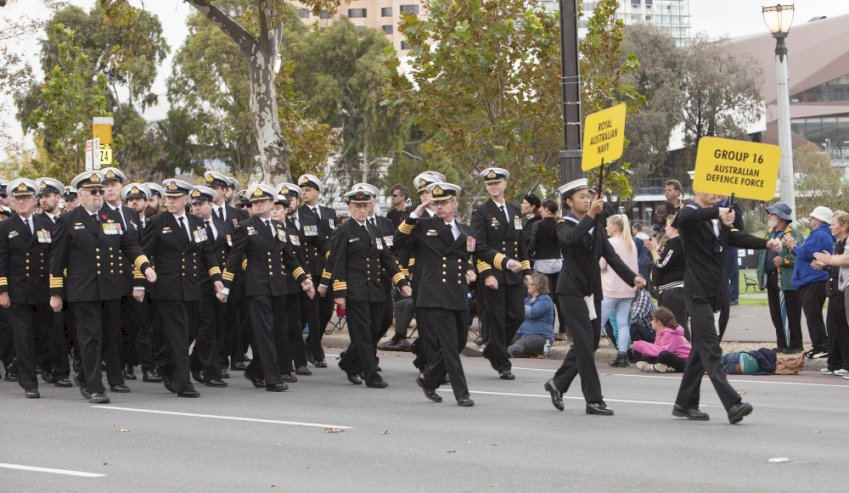 adelaide anzac day march