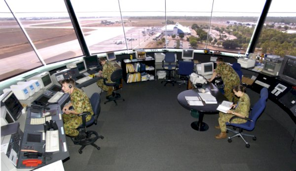 air traffic control tower darwin
