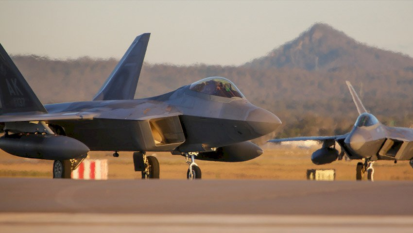 RAAF sharpens air combat claws with support of US Raptors