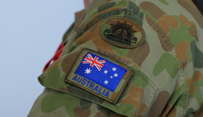 aus army sleeve