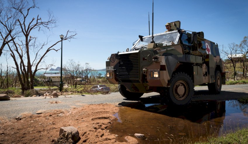 australian bushmaster troop vehicle unique in the world  says ibos