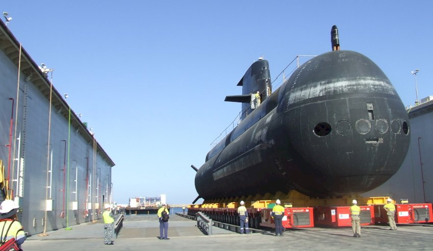 collins class submarine at asc