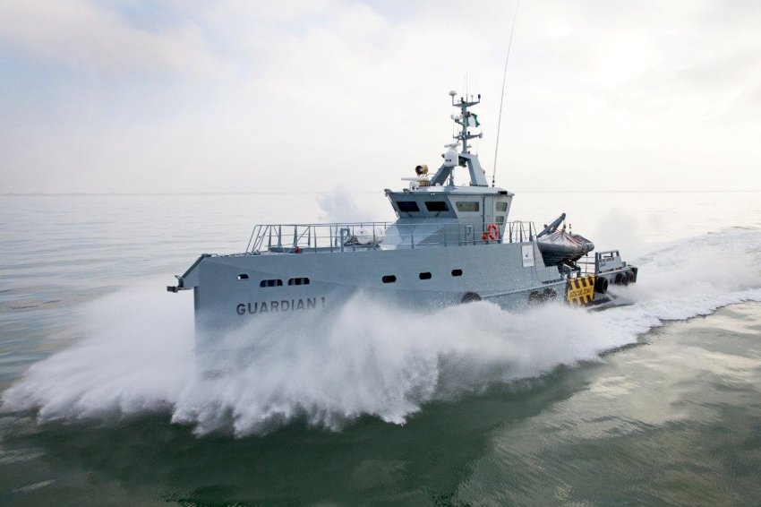 damen patrol for offshore nigeria