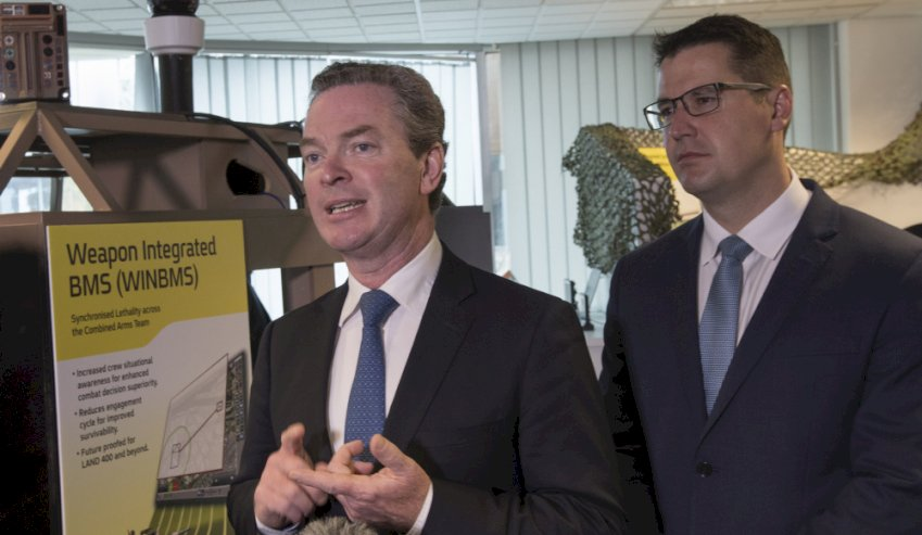 defence industry minister c pyne