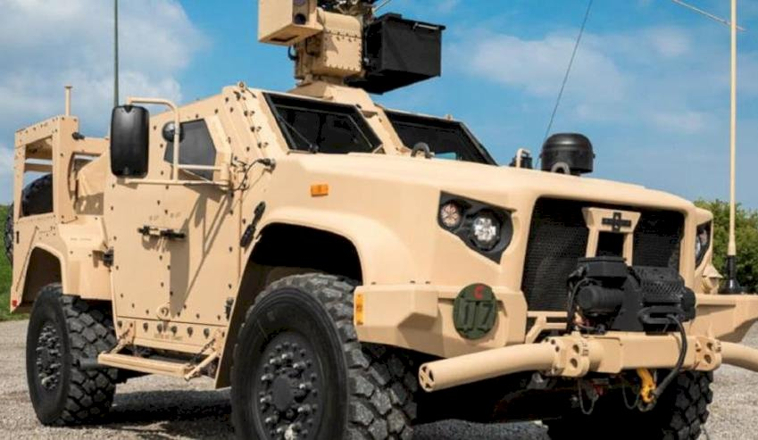 eos  mm remote weapon system integrated with the us army jltv