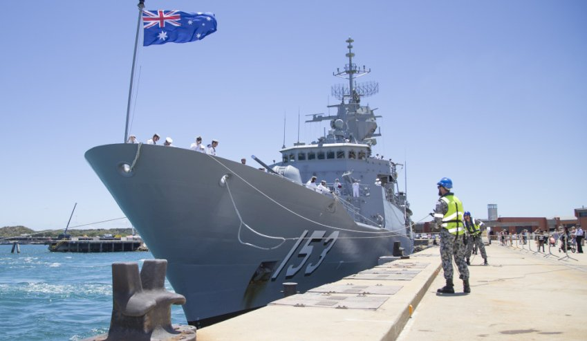 fleet base west hmas stiring