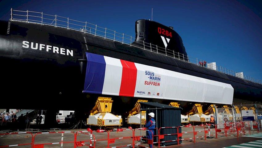 Barracuda launch heralds beginning of new submarine era for France