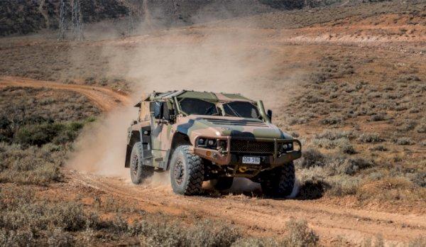 Photo Essay: Australian Army's range of support vehicles