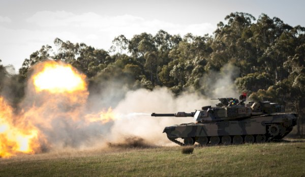 m a  abrams tank at exercise chong ju