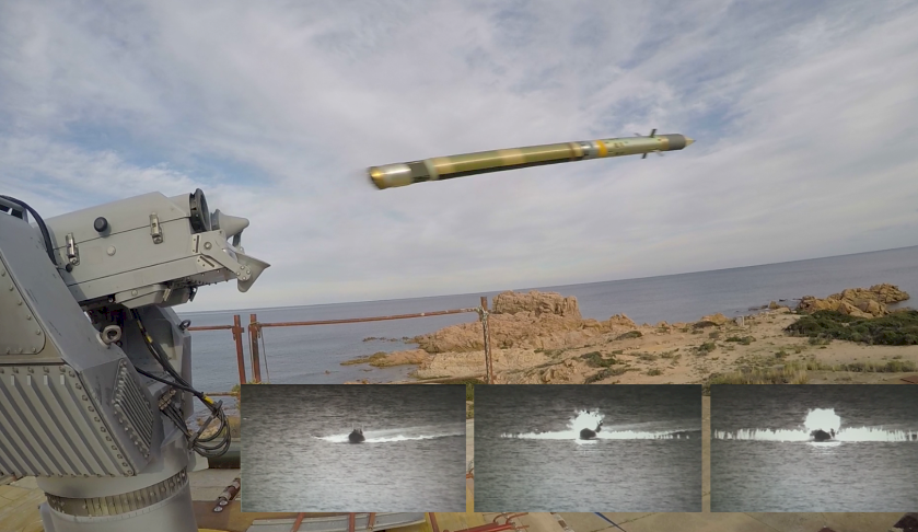 mbda successfully demonstrates the anti surface capabilities of the mistral missile