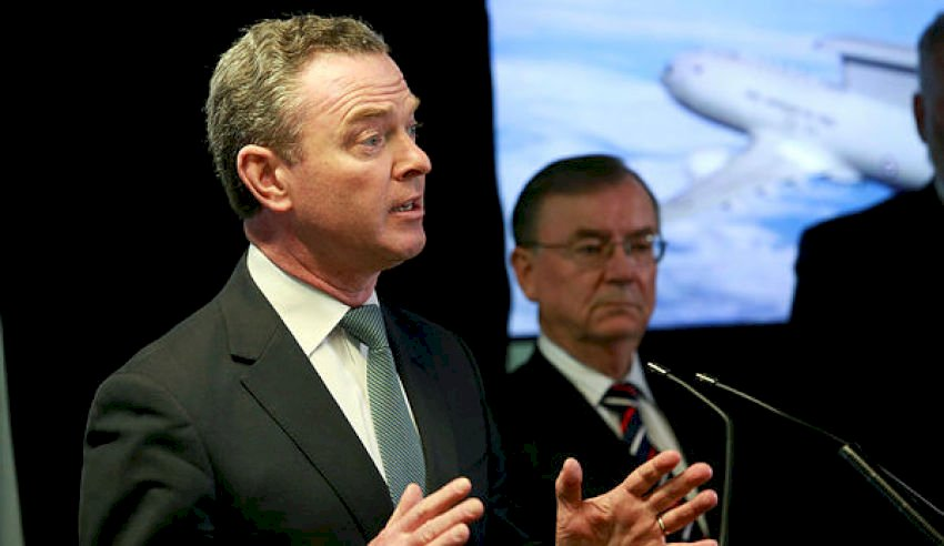minister pyne speech
