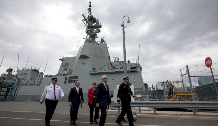naval shipbuilding plan officially unveiled