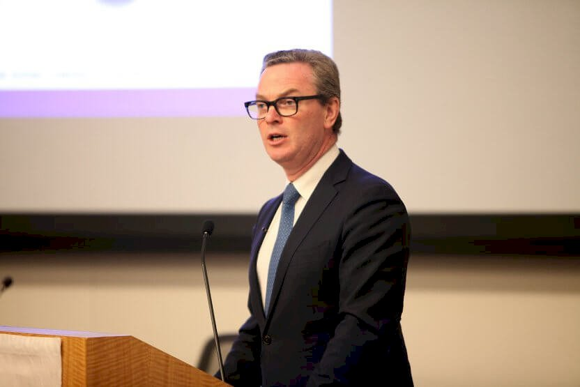 Minister Pyne addresses the National Defense Industrial Association in the US
