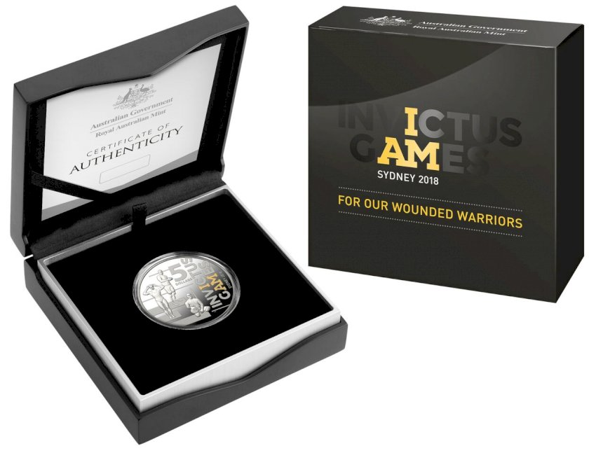 sydney   invictus commemorative coin