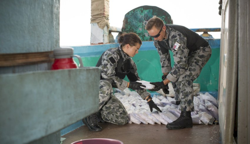 third hmas warramunga drug seizure