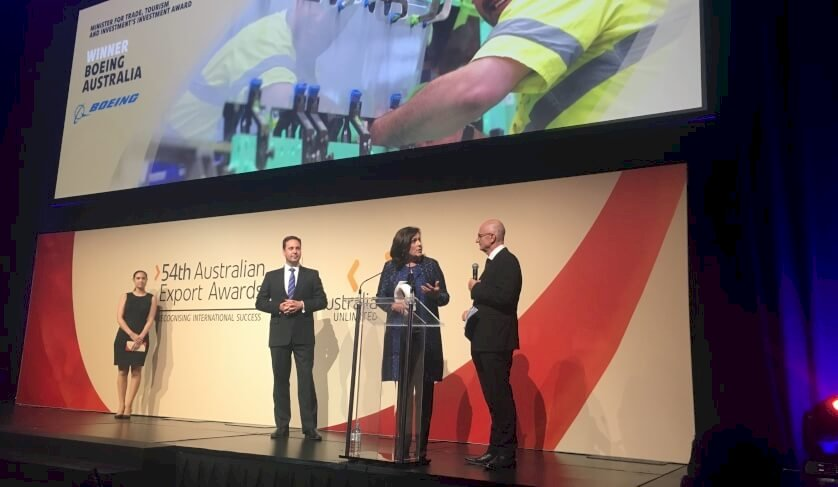 boeing receives inaugural investment award
